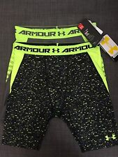 UNDER ARMOUR BOYS' HEATGEAR ARMOUR UP FITTED LONG SHORTS, #1277185 & 127186