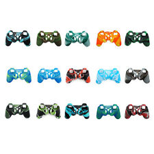 Silicone Soft Cases Cover for Sony PS3 Joystick Protection Camo Skin Anti-Dust