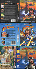 Fire Shark Sega Mega Drive Genesis PAL NTSC Replacement Box Art Case Insert Cove