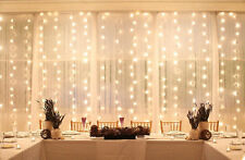 160 ft 400 LED Window Curtain Lights Fairy String Light Wedding Party Decoration