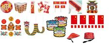 Chinese New Year Plates,cups,tableware,decorations - party