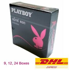 52mm. Playboy Maxx Dotted Spike G-Point Condom with Lubricated 3pcs/Box