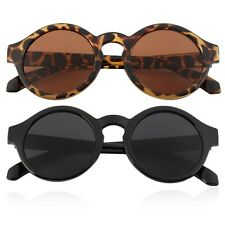 Unisex Vintage Retro Women Men Glasses Vintage Round Mirror Lens Sunglasses GF