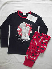 BNWT GIRLS ME TO YOU TATTY TEDDY NAVY/RED/WHITE CHARACTER L/S PYJAMAS 5-12YRS