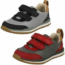 Infant Boys Clarks First Walking Shoes *Ferris Cap*