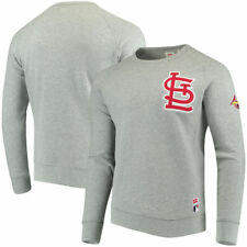 St. Louis Cardinals Levi's Pullover Sweatshirt - Heathered Gray - MLB