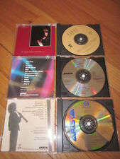 lot of 3 jazz CDs KENNY G Live Silhouette - Yanni In Celebration of Life - EUC