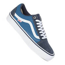 Vans Old Skool Pro navy Skate Shoes - optimized Skate Version of the old School