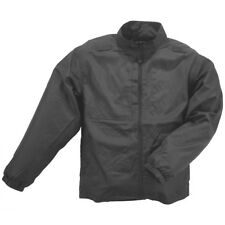 5.11 Packable Waterproof Mens Jacket Tactical Army Windproof Hiking Coat Black