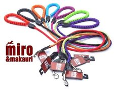 Miro & Makauri Soft Rubber Handle Rope Leads Trigger Hooks / 2 size options