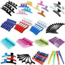 Hairdressing Pastel Hair Salon Crocodile Butterfly Claw Section Clip Clamps UK