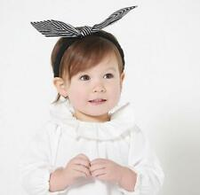 Cute Baby Toddler Girl Kids Rabbit Bow Knot Turban Headband Hair Band Headwrap