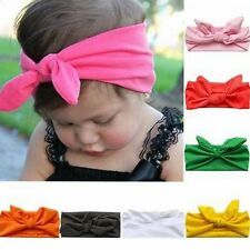 Kids Girls Baby Headband Toddler Bow Flower Ear Hair Band Accessories Headwear
