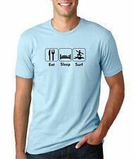 Hot4TShirts Eat Sleep Surf Funny T-Shirt For Men