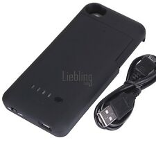 New 1900mAh External Rechargeable Backup Battery Charger Case  For Iphone LEBB