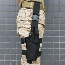 Tactical Pistol Gun Drop Bag Puttee Leg Thigh Holster Pouch Holder Adjustable AR