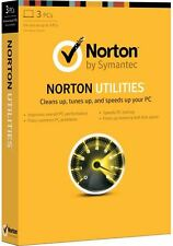 Norton Utilities v16.0  3 Computers 1 Year Subscription PC
