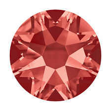 Swarovski Hot Fix Crystals - Padparadscha