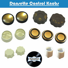 Dansette Record Player Replica Control Knobs (Various Models)