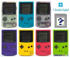 GameBoy Color Console (Colour By Choice) + FREE Nintendo GB Game TOP