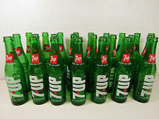 Lot of 24 7-Up Bottles 10 Ounces 1970's? All Empty