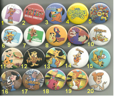 Hanna Barbera Collection Pins Buttons Badges Pick Your Own Set