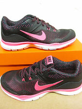 nike womens flex trainer 5 print running trainers 749184 018 sneakers shoes