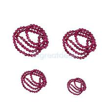 Fashion Faceted Ruby Jade Round Gemstone Loose Beads Strand 15 Inch DIY Making