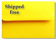 Sun Yellow A6 Boxed Envelopes for 4 x 6 Invitations Announcements Showers Photos