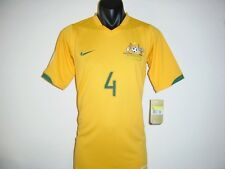 AUSTRALIA SOCCEROOS #4 CAHILL FIFA WORLD CUP 2006 HOME NIKE SHIRT JERSEY