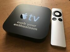 "Apple TV 2nd Generation - Collectible ""Curb Your Enthusiasm"" unit, remote, power"