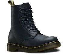 Dr Martens Womens 1460 Pascal Virginia Soft Leather Boots in Dress Blues