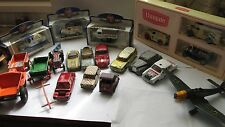 DINKY TOY, CORGI MATCHBOX ETC JOB LOT SOME NEW SOME FOR SPARES.,TOTAL 19 MODELS