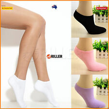 Cushion Foot 1Pair COTTON Womens Running ANKLE SOCKS Sports Women Low Cut New
