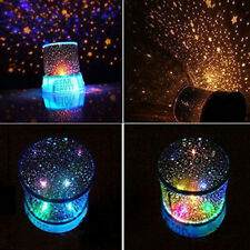 Romantic Sky Projector LED Star Master Lamp Colorful Twilight Night Party Decor