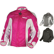 Fly Street Coolpro II Mesh Womens Racing Motorcycle Jackets