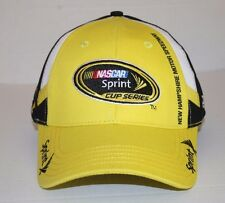 New Hampshire Motor Speedway Hat Sprint Cup Series Yellow White Black One Size