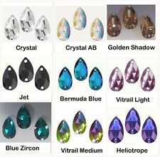 PEAR/DROP 3230 SHAPE SEW ON SWAROVSKI RHINESTONE JEWELS