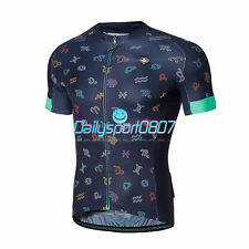 Santic Men Summer Bicycle Bike Cycling Jersey MTB Short Sleeve Sportswear Shirt