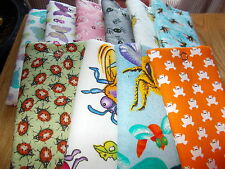 Handmade soft padded spectacle soft pouch  - frogs butterflies bees beasties