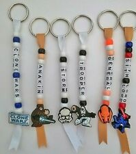 Star Wars The Clone Wars  Personalised Keyrings, Great Children's bag tags