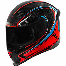 Icon Airframe Pro Halo Carbon Black Red Helmet All Sizes
