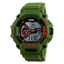 Multi Function Digital LED Quartz Watch Water Resistant Electronic Sport Watches