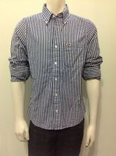 HOLLISTER by Abercrombie Men Classic Striped Shirt NwT Medium