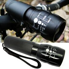 240 Lumen Zoomable Focus Flashlight Torch Q5 Cycling Bike Bicycle LED Front LEBB