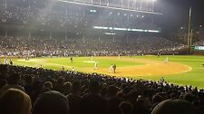 2-Tickets Chicago Cubs vs Miami Marlins Tuesday 06/06/17 @ Wrigley Field