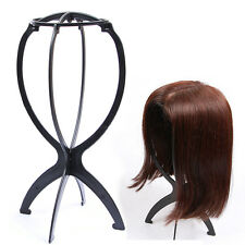 Plastic Folding Stable Wig Hair Holder Head Hat Cap Display Holder Stand Tool