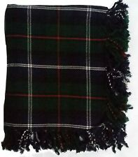 "Brand New Kilt Fly Plaid Tartan 48"" X 48"" Acrylic Highland Kilt Brooch Pin Socks"