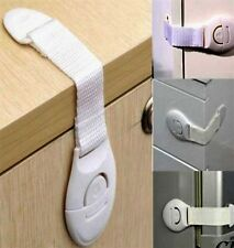 CHILD SAFETY LOCKS BABY PROOFING CABINETS OVENS ADHESIVE STRIPS EASY INSTALL