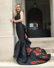 2017 Sexy Lace Evening Dresses Formal Prom Gowns Chiffon Custom Size 2 4 6 8 10+